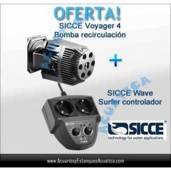 OFERTA! 1 SICCE VOYAGER 4 + WAVE SURFER CONTROLADOR