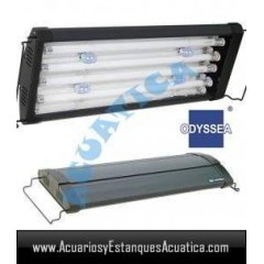 ODYSSEA T5 QUAD 90/100CM 4 X 39W + 4 LED ACUARIO DULCE