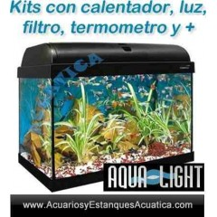ACUARIO AQUA LIGHT 80L KIT