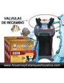 VALVULAS DE RECAMBIO FILTRO TURBOJET