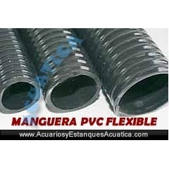 MANGUERA PVC FLEXIBLE ESTANQUES 25M