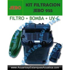 JEBO 955 KIT FILTRACION ESTANQUES