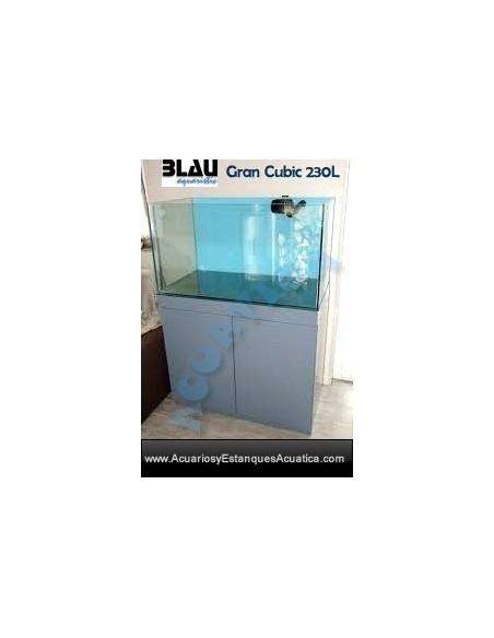 ACUARIO BLAU GRAN CUBIC 230L MARINO
