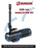 SUNSUN CUP-129 9W EQUIPO UV ULTRAVIOLETA