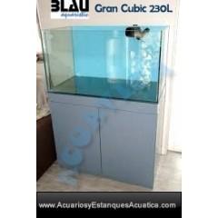 ACUARIO MARINO BLAU MARINE GRAN CUBIC 230L COMPLETO
