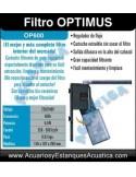 FILTRO INTERIOR OPTIMUS 600 ACUARIOS