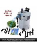 SUNSUN HW-403B + UV FILTRO ACUARIOS EXTERNO