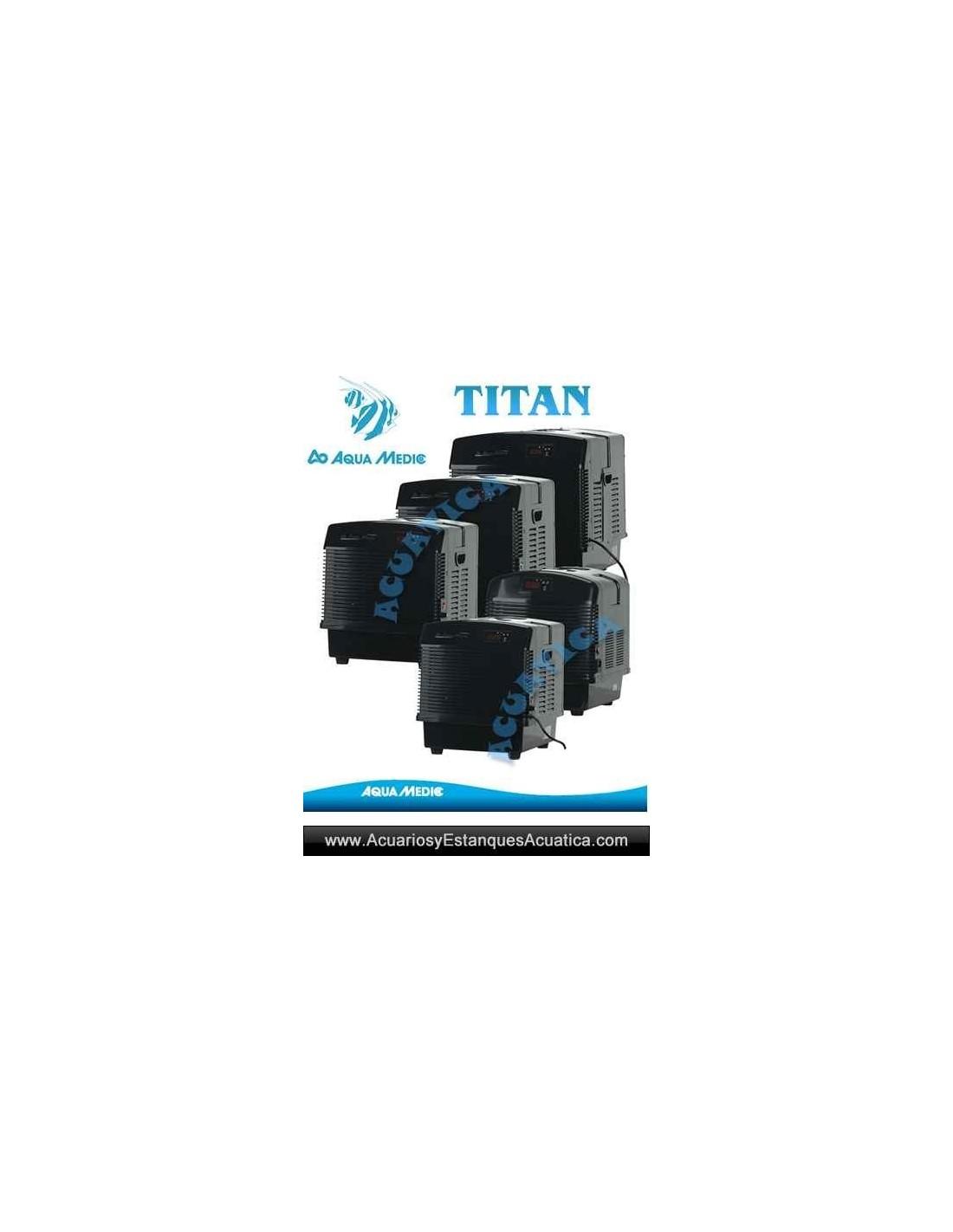 Aquamedic titan 1500 enfriador acuarios marino o dulce for Acuario marino precio