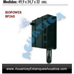 BIOPOWER BP260 260L/H FILTRO INTERNO ACUARIOS