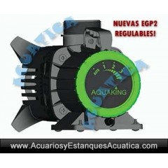 AQUAKING EGP2 ECO BOMBA DE AGUA PARA ESTANQUES