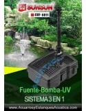 SUNSUN CUF-6011 FILTRO SUMERGIBLE ESTANQUES