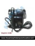 FILTRO CASCADA DOPHIN H-80 ACUARIOS AGUA DULCE Y MARINOS