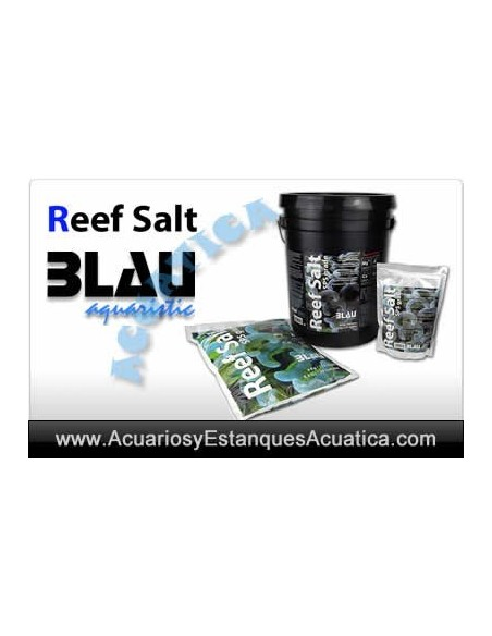 BLAU REEF SALT SAL PARA ACUARIOS MARINOS