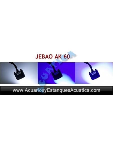 JEBAO JECOD AK 60 PANTALLA LED ACUARIO DULCE Y MARINO