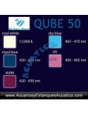 AQUAMEDIC QUBE 50 LED ACUARIO MARINO