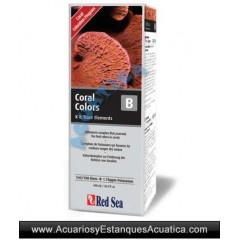 RED SEA COLORS B 500ML ACUARIOS MARINOS