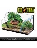 TORTUGUERA EXOTERRA 90x45x30/45cm CRISTAL
