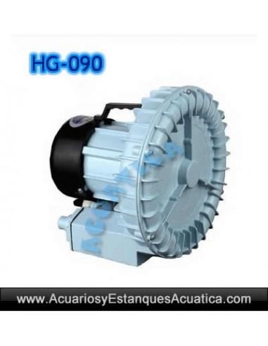HG-090 BOMBA DE AIRE SOPLANTE CONTINUA ACUARIO ESTANQUE