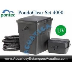 PONTEC PONDOCLEAR SET 4000...