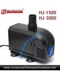 SUNSUN HJ-1500 1500L/H BOMBA DE AGUA ACUARIOS ESTANQUES