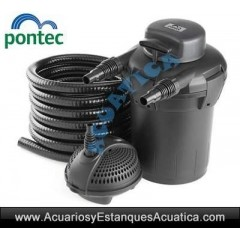 PONTEC PONDOPRESS SET 5000 FILTRACION ESTANQUES