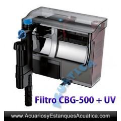 GRECH CBG + UV FILTROS CASCADA PARA ACUARIOS