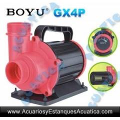 BOYU GX4P BOMBAS ACUARIOS ESTANQUES