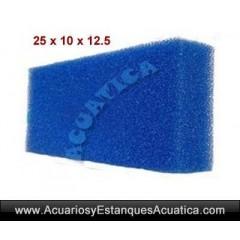 ESPONJA FOAMEX GRUESA 25 X 12.5 X 10CM
