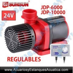 SUNSUN JDP BOMBAS REGULABLES ACUARIOS Y ESTANQUES