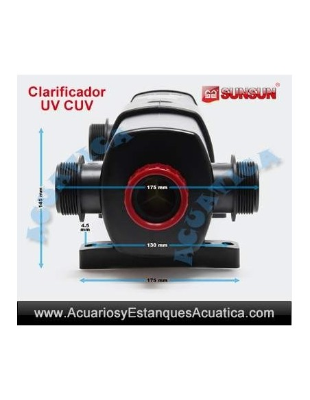 SUNSUN CUV-236 CLARIFICADOR UV ACUARIOS ESTANQUES