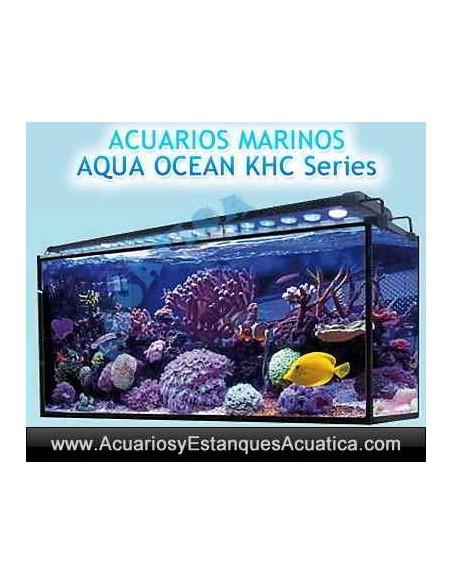ACUARIO MARINO AQUA OCEAN KHC6060 164L