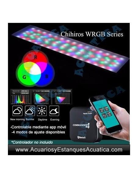 CHIHIROS WRGB PANTALLA LED ACUARIOS