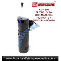 SUNSUN CUP-809 9W FILTRO UV...