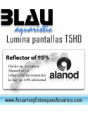 Pantalla BLAU Lumina 4 x T5HO iluminacion para acuarios de calidad