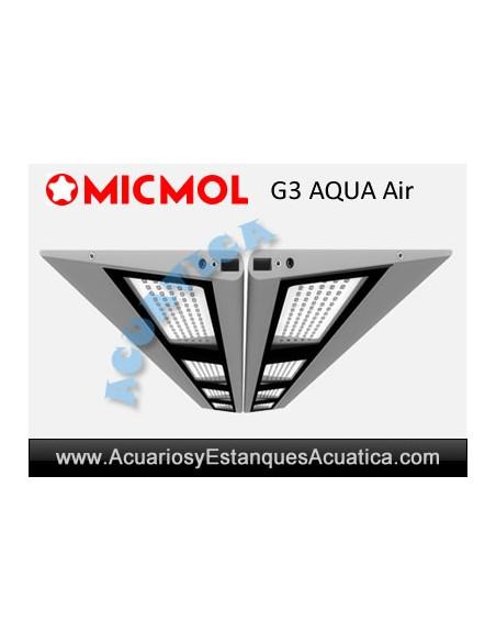PANTALLAS LED MICMOL AQUA AIR ACUARIOS DULCES