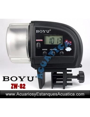 ALIMENTADOR AUTOMÁTICO  ACUARIO BOYU ZW-82