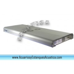 Pantalla BLAU Lumina 10 x T5HO iluminacion para acuarios de calidad