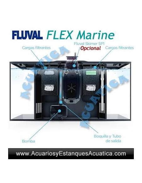 FLUVAL FLEX 123L ACUARIO MARINO