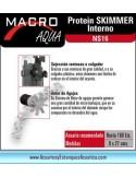 SKIMMER MACRO Aqua NS16 INTERIOR CON BOMBA ACUARIOS MARINOS