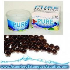 PURE MARINE 50 bolas bacterias para acuario de agua salada