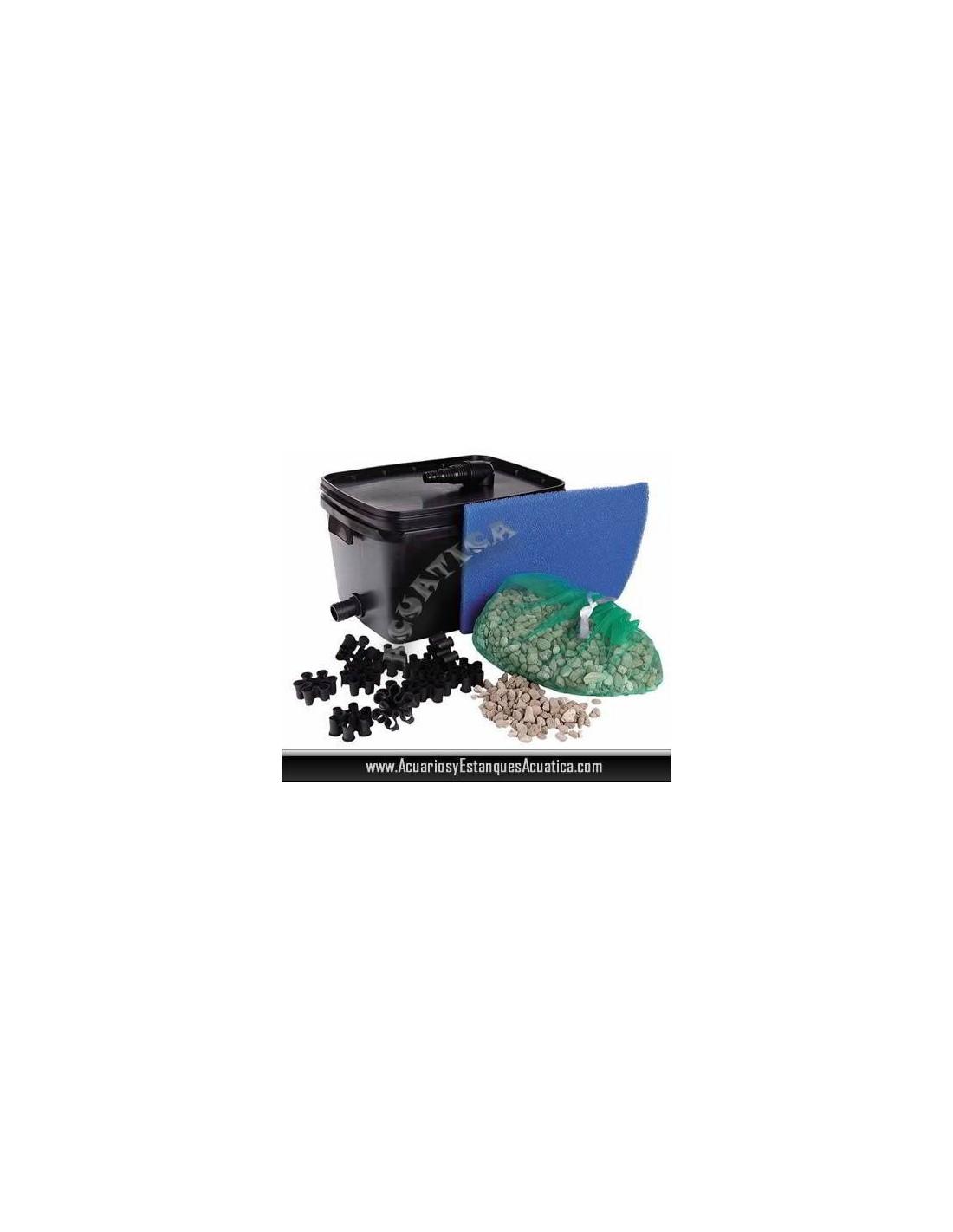 Ubbink filtrapure 2000 filtro estanques acuarios y for Estanque prefabricado barato